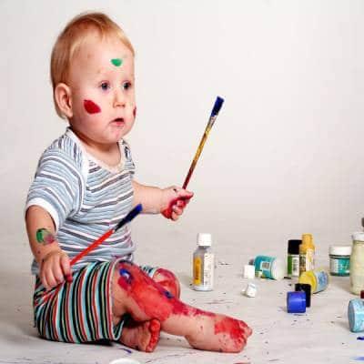 مراحل نقاشی کشیدن کودکان
