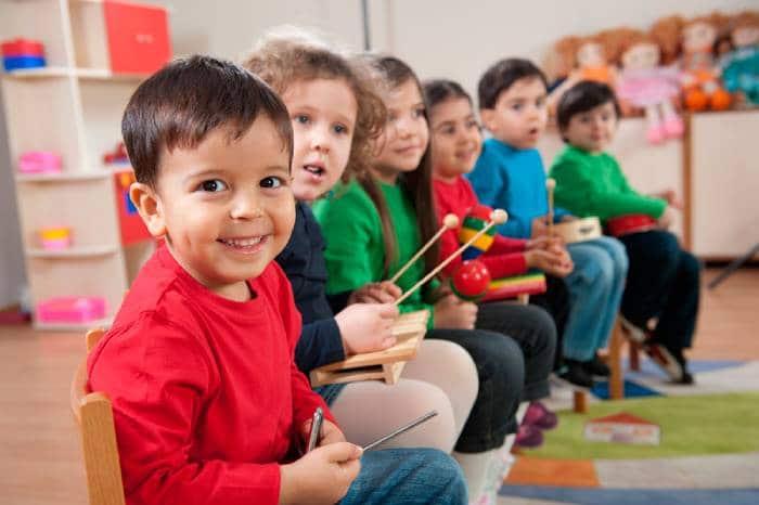تاثیر موسیقی بر کودکان