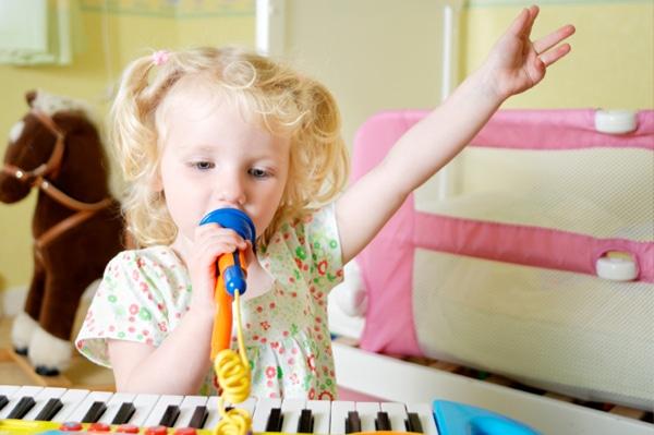نقش موسیقی بر توانایی های کودک