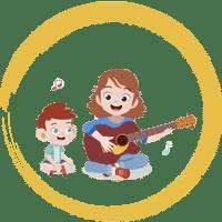 کلاس موسیقی مادر و کودک